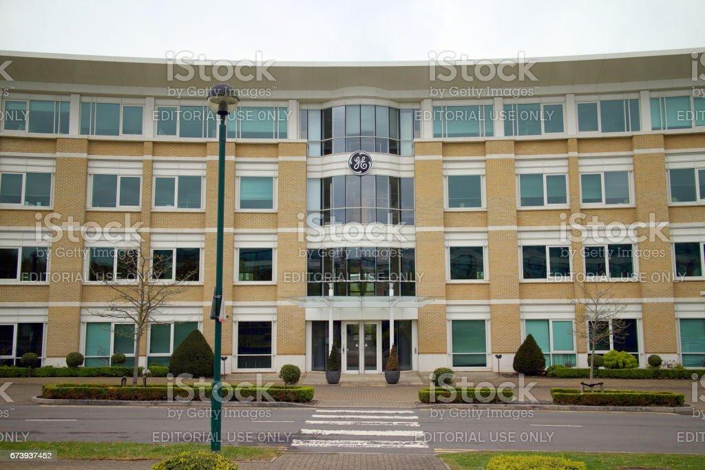 GE Building in England foto de stock royalty-free