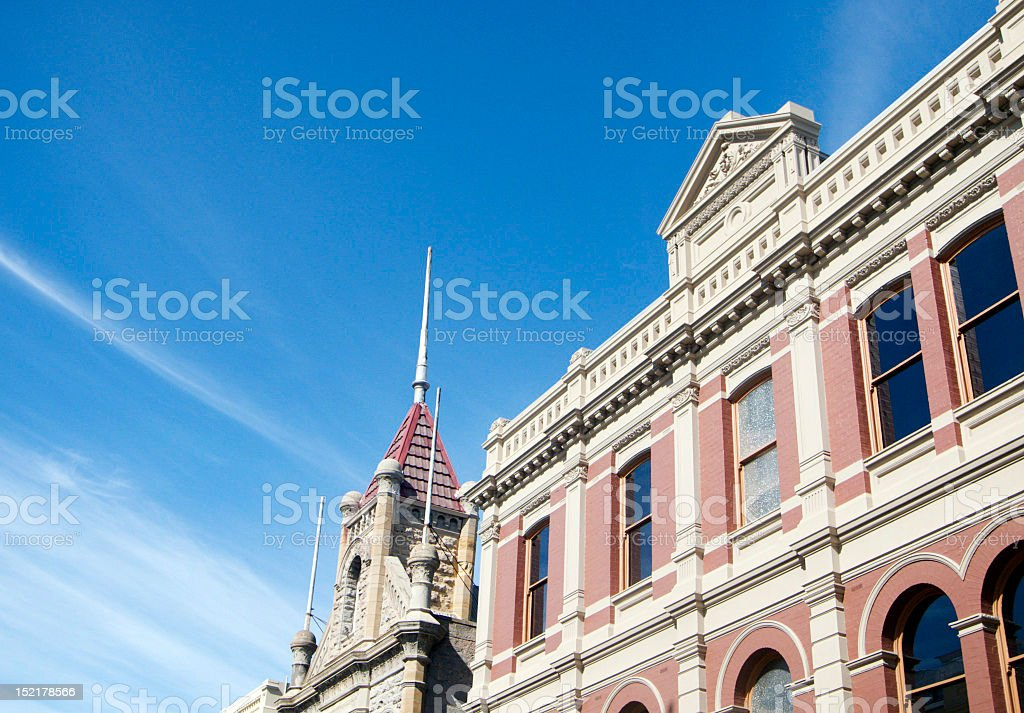 Building in Fremantle, Perth, WA stock photo