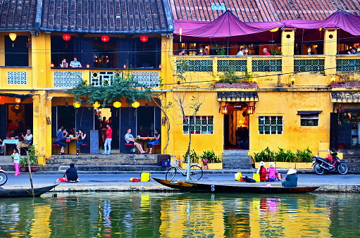 Building In Hoi An At Vietnam On January 9 2014 Stock Photo - Download Image Now