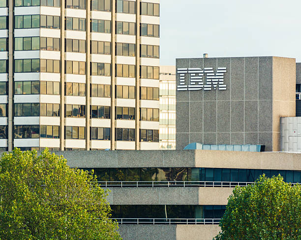 IBM Building in London stock photo