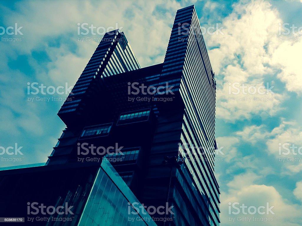 Building in Macau stock photo