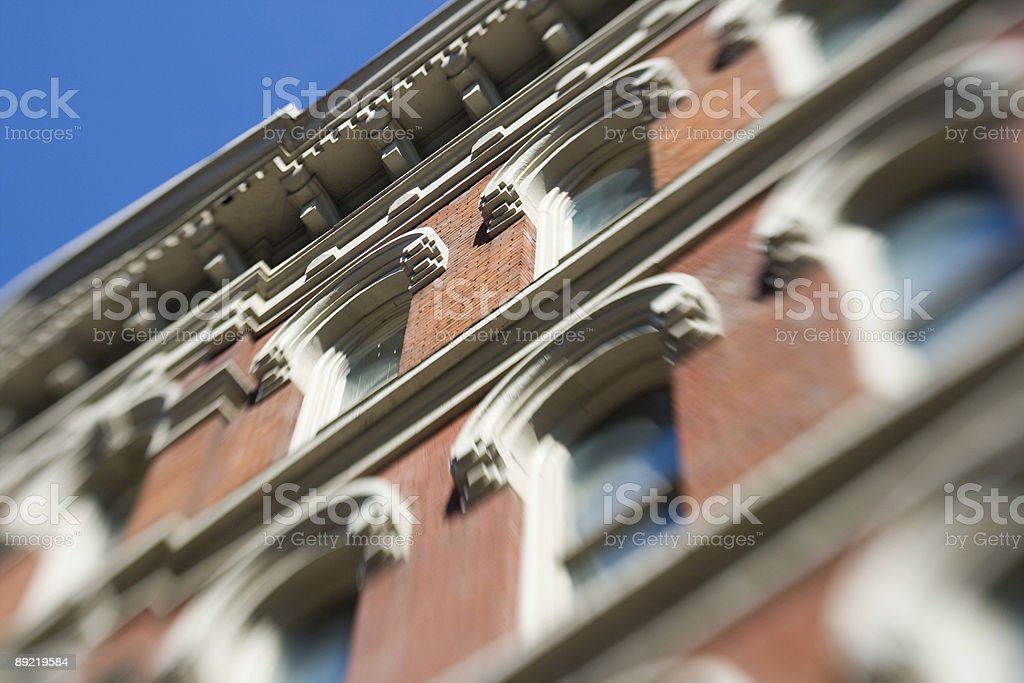 Building in NashvilleTennessee stock photo