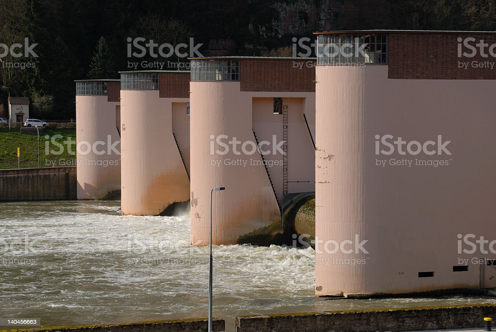 Bauwerk in rosa royalty-free stock photo
