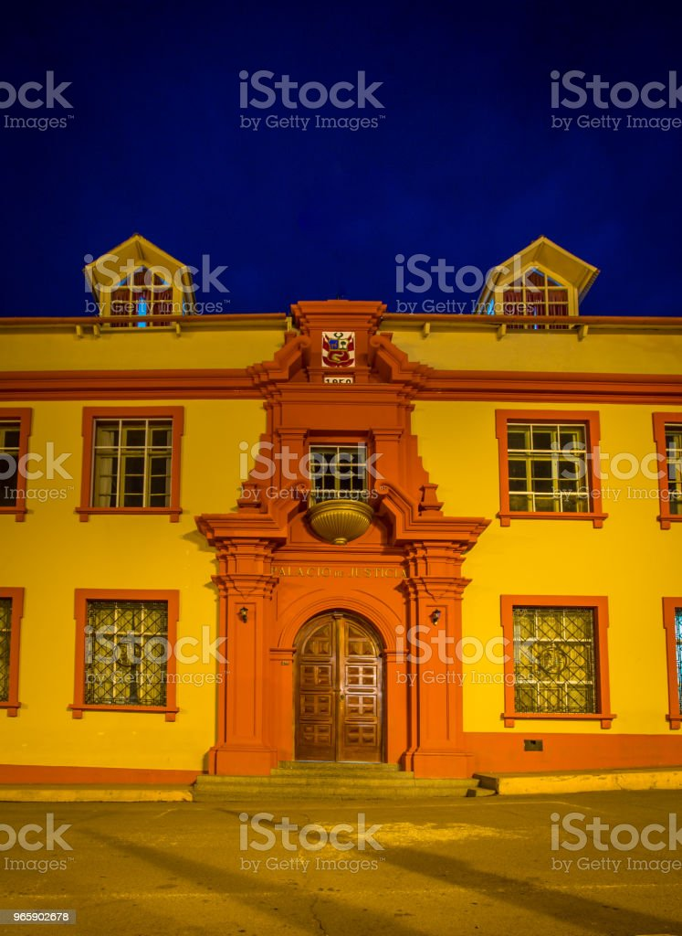 building in Puno Peru - Royalty-free Architecture Stock Photo