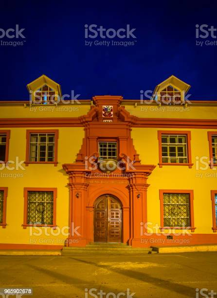 Building In Puno Peru Stock Photo - Download Image Now