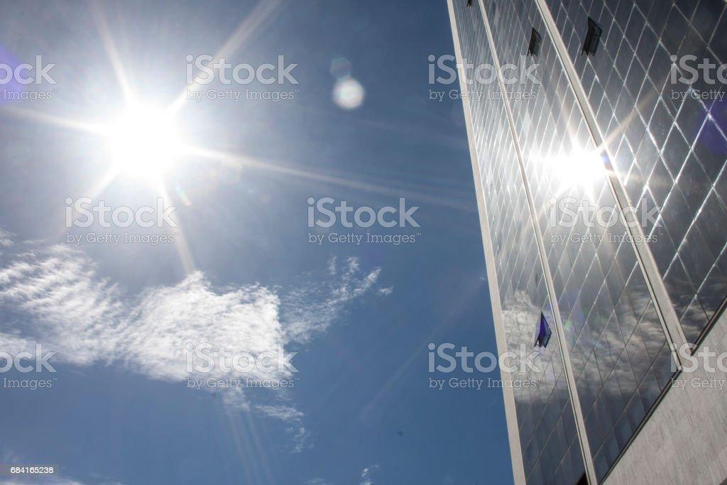 Building in Rio de Janeiro royalty-free stock photo
