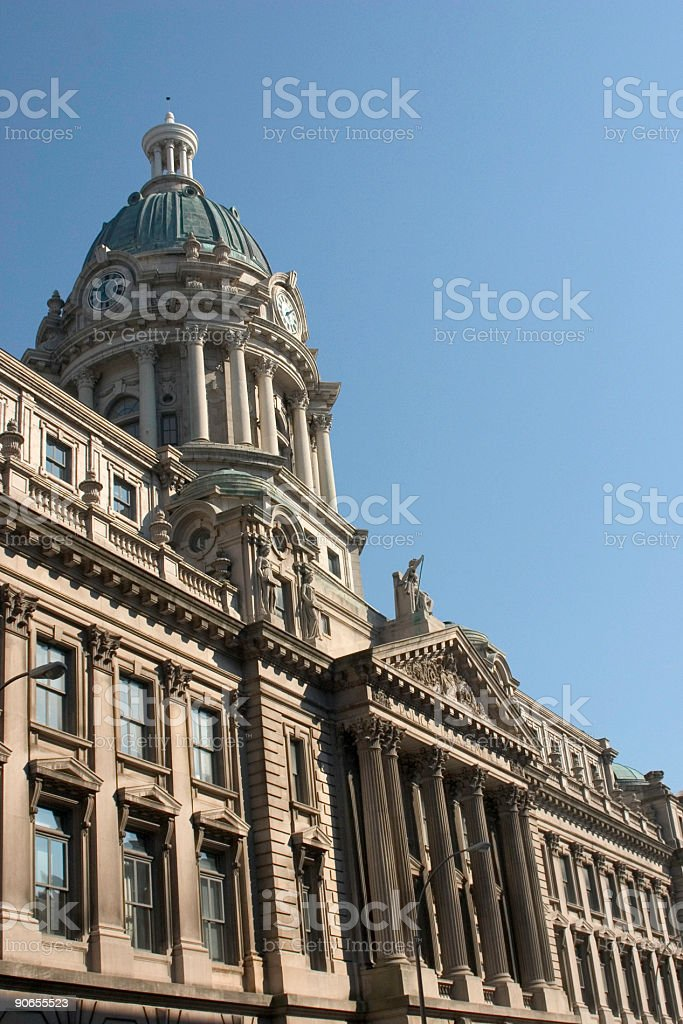 Building in Summer royalty-free stock photo