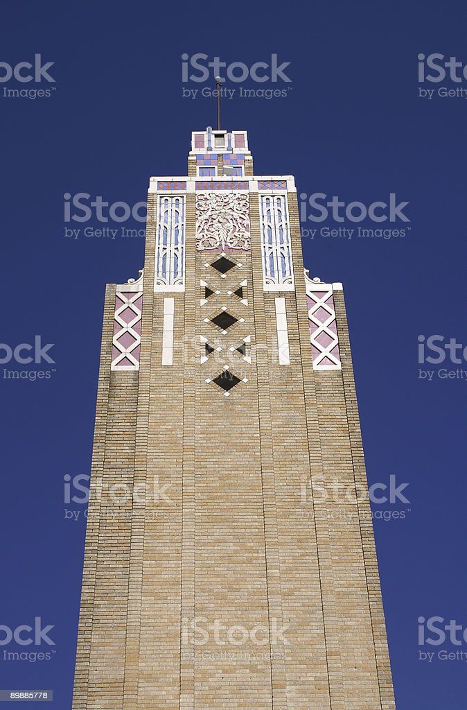 Building in Tulsa Downtown royalty-free stock photo