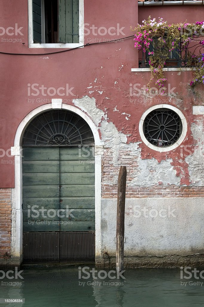 Building in Venice, Italy royalty-free stock photo