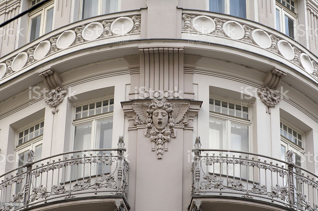 building in vienna downtown royalty-free stock photo