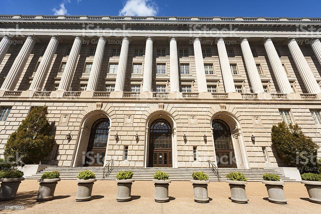 IRS Building in Washington royalty-free stock photo