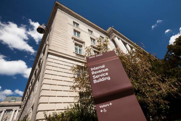 IRS Building in Washington stock photo