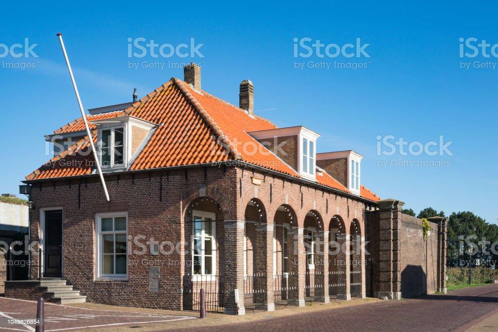 gebouw in Willemstad, Nederland foto