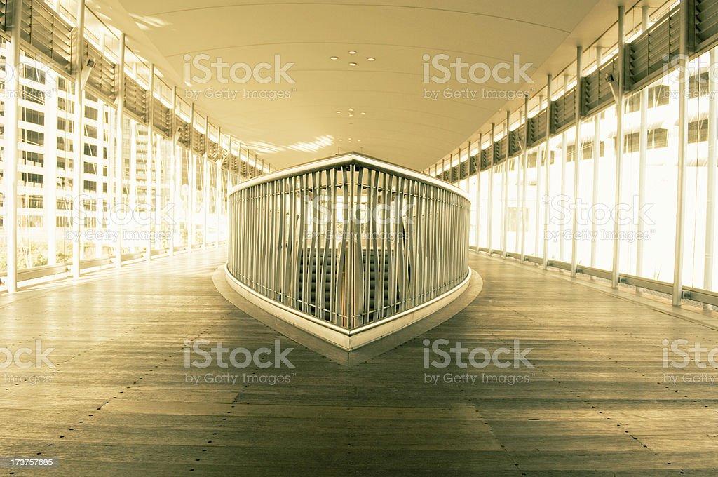Building interior office hallway royalty-free stock photo
