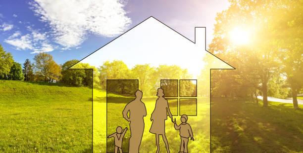 Bauland für Neubauprojekt auf grüner Wiese, Grundstück für Baugebiet – Foto