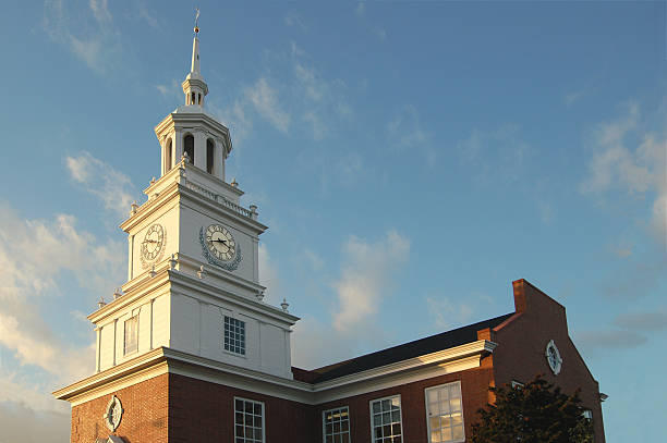 Building like Independence Hall stock photo