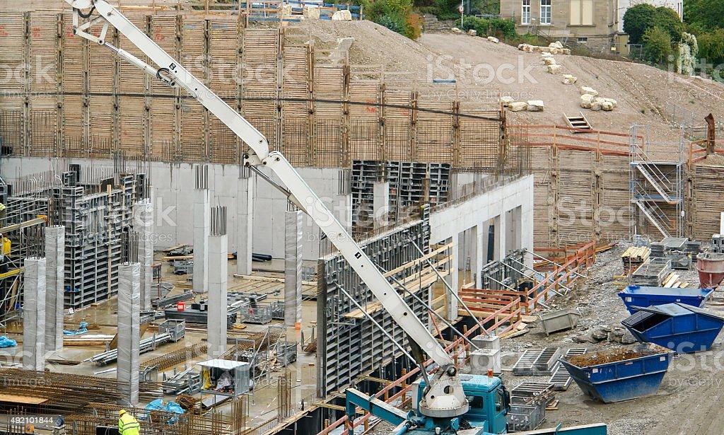 building lot stock photo