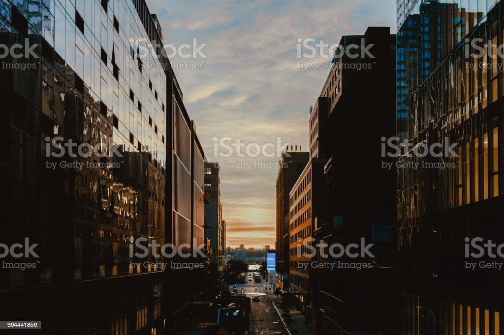 Building Manhattan New York - Royalty-free Architectural Feature Stock Photo