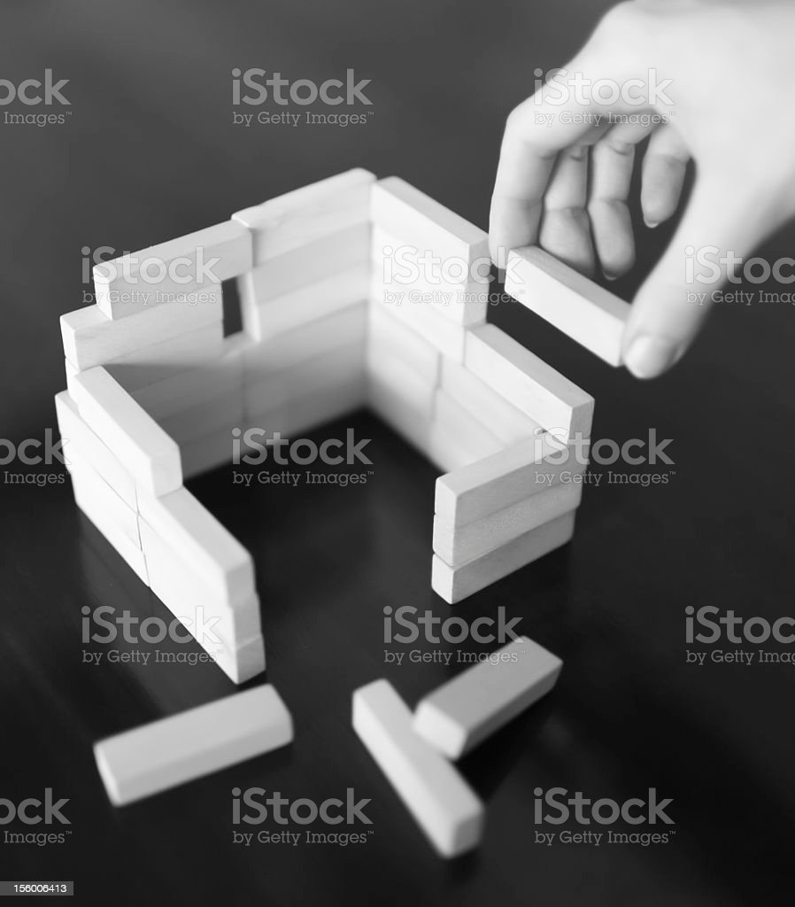 Building model house royalty-free stock photo