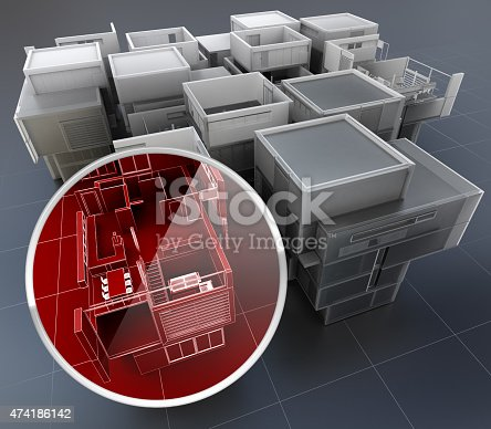 istock Building monitoring system 474186142
