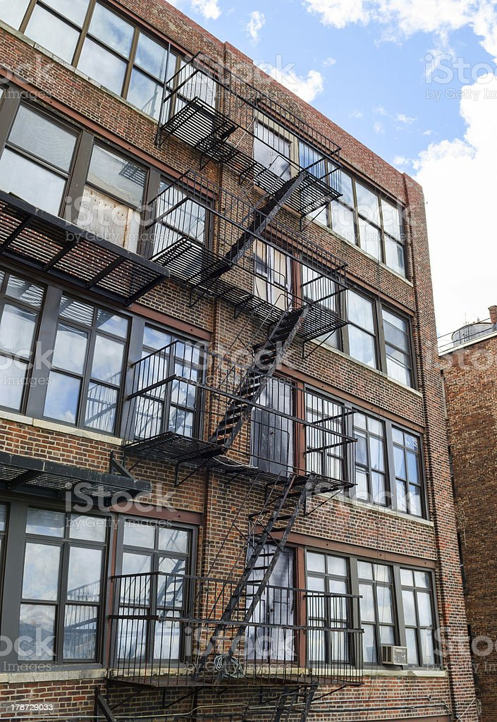 Building, New York royalty-free stock photo