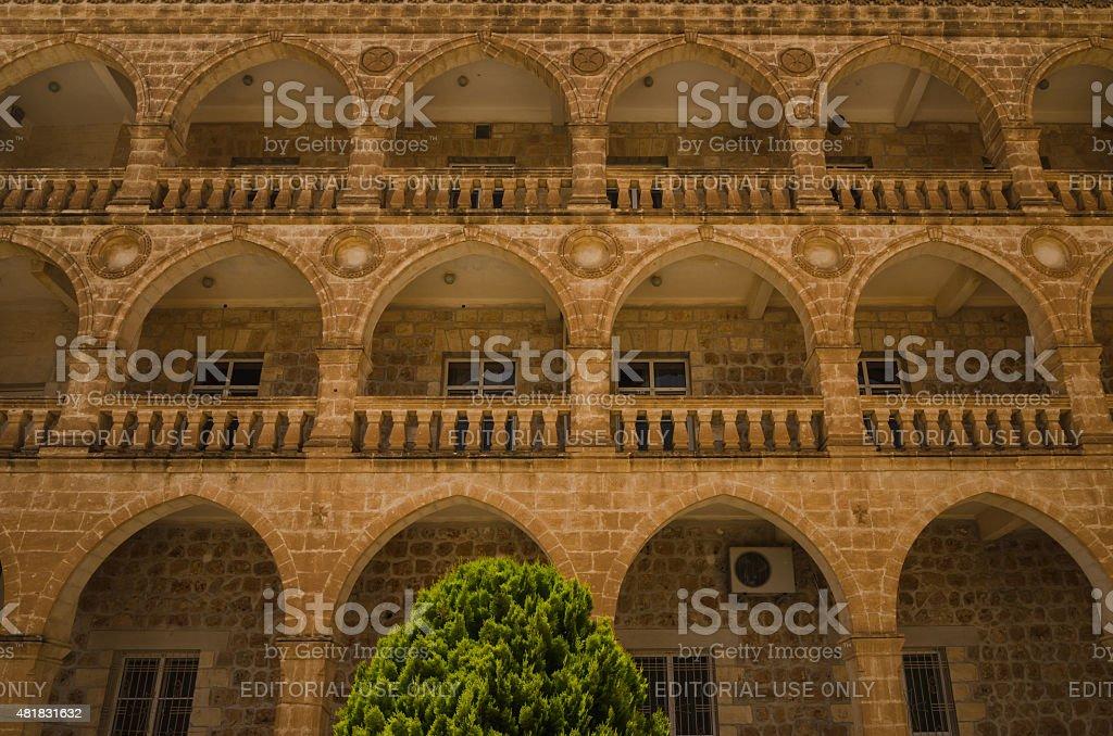 Bâtiment de Aramic chrétiens seminary au monastère de Mor Gabriel - Photo