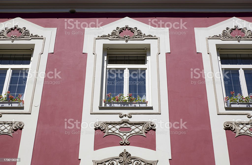 Building of Austria royalty-free stock photo