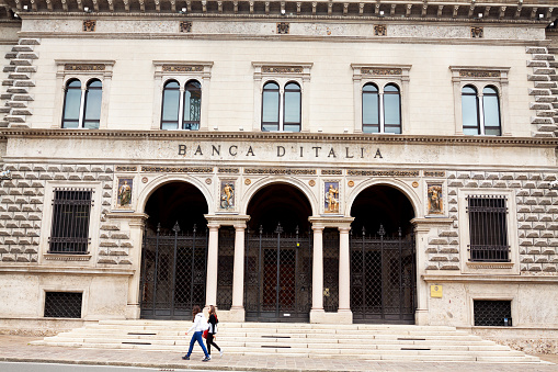 Building of Bank of Italy