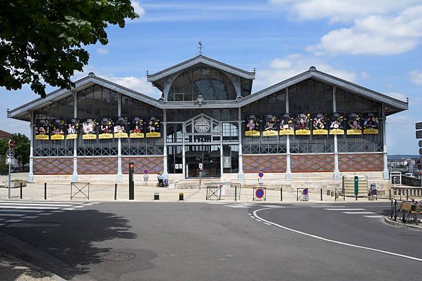 Bâtiment du marché couvert d'Angoulême, France - Photo