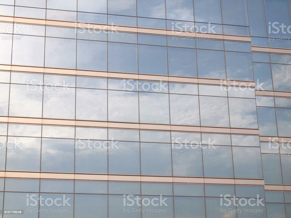 Gebäude aus Glas - Lizenzfrei Abstrakt Stock-Foto
