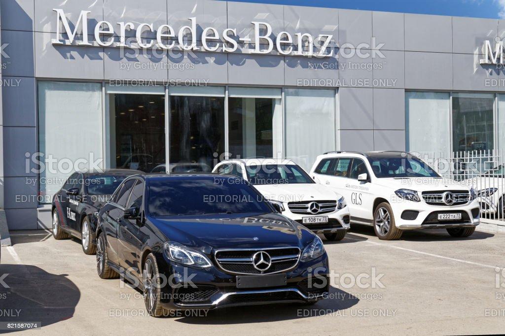 Gebäude von Mersedes-Benz PKW Verkauf und Service center – Foto