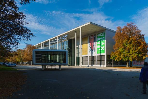 Building of  Pinakothek der Moderne stock photo