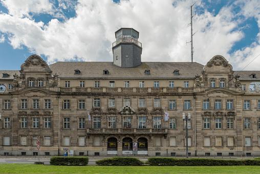frankfurt am main, germany-july 06, 2020: Building of the former police headquarters in Frankfurt am Main, Germany