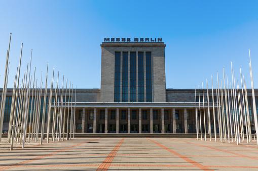 building of the Messe Berlin, Berlin, Germany