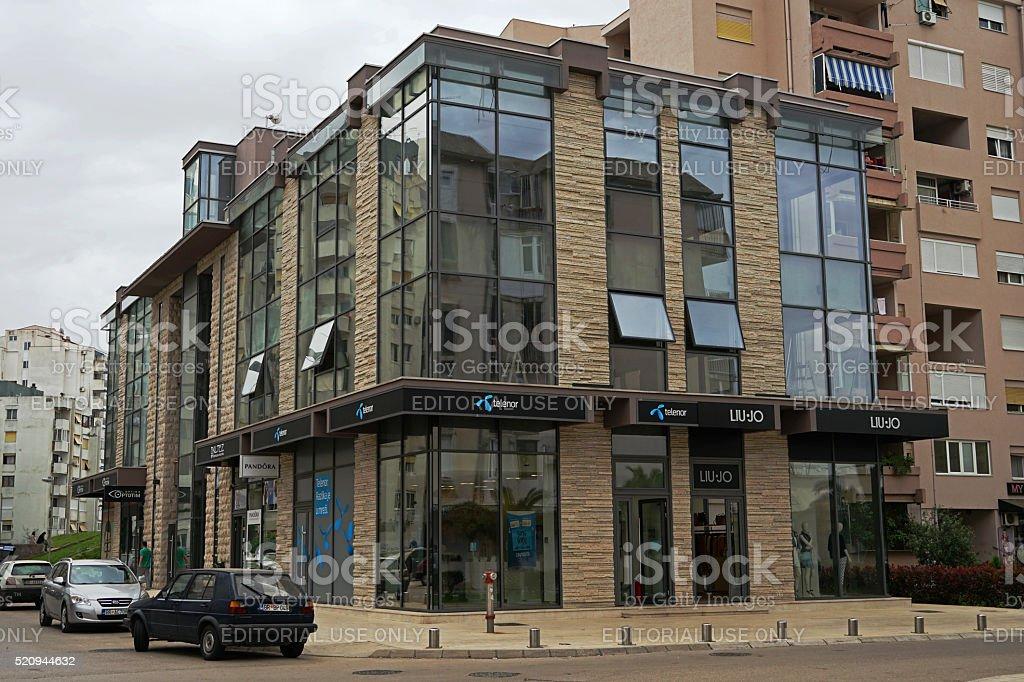 Building of the office of Telenor in Montenegro