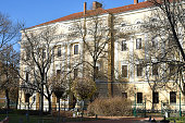 Building of the Reformed College in Debrecen, Hungary