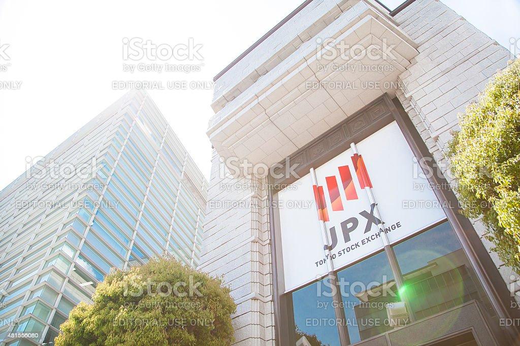Building of the Tokyo Stock Exchange