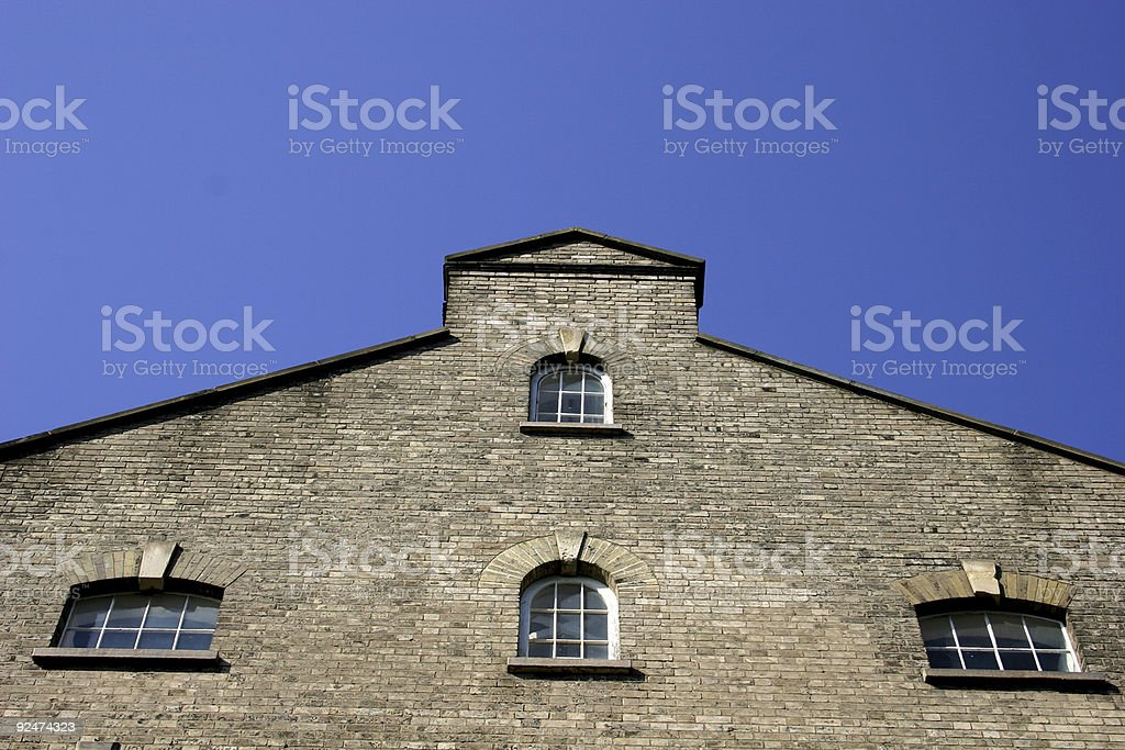 Building, old factory royalty-free stock photo