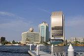 A building on the bank of Dubai creek, Dubai