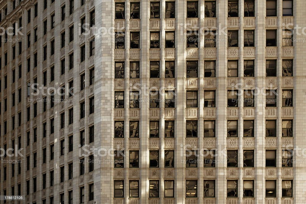 Building pattern detail royalty-free stock photo