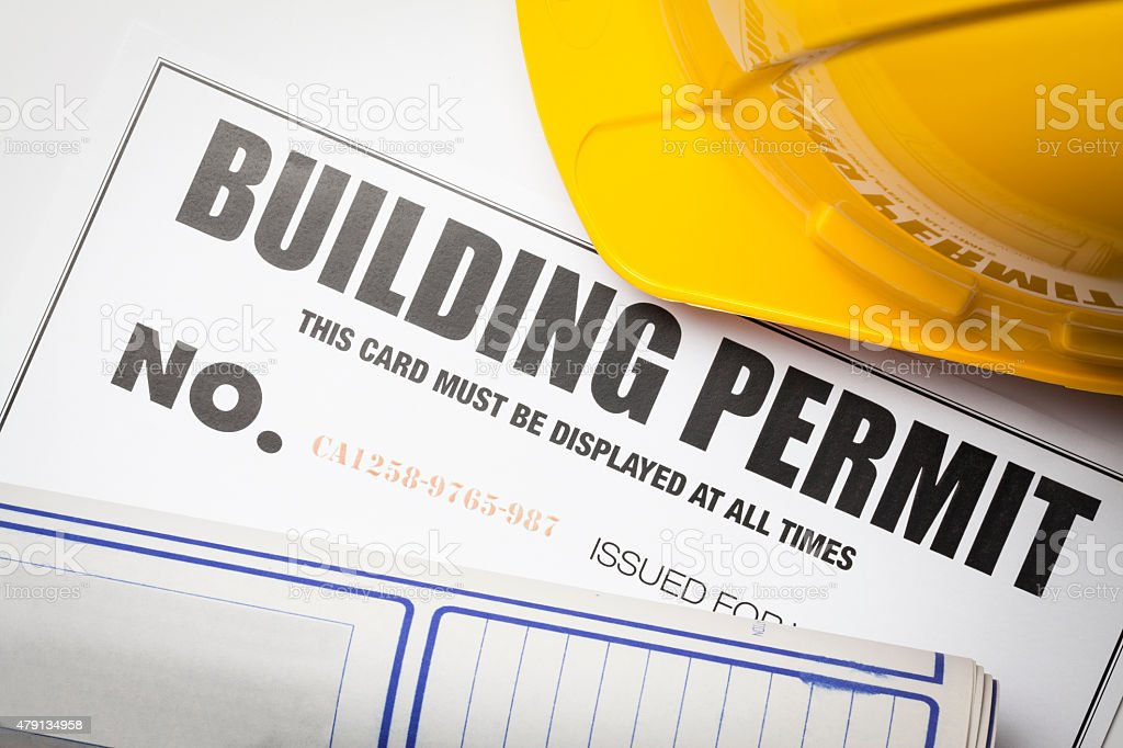 Building permit stock photo more pictures of 2015 istock building permit royalty free stock photo malvernweather Gallery