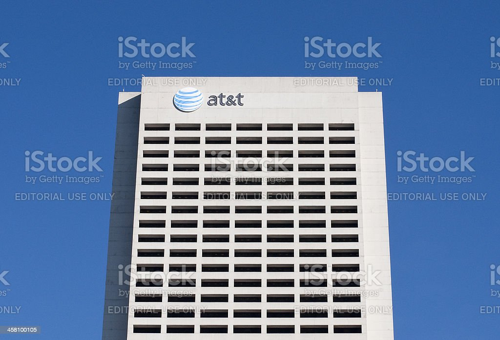 AT&T Building stock photo