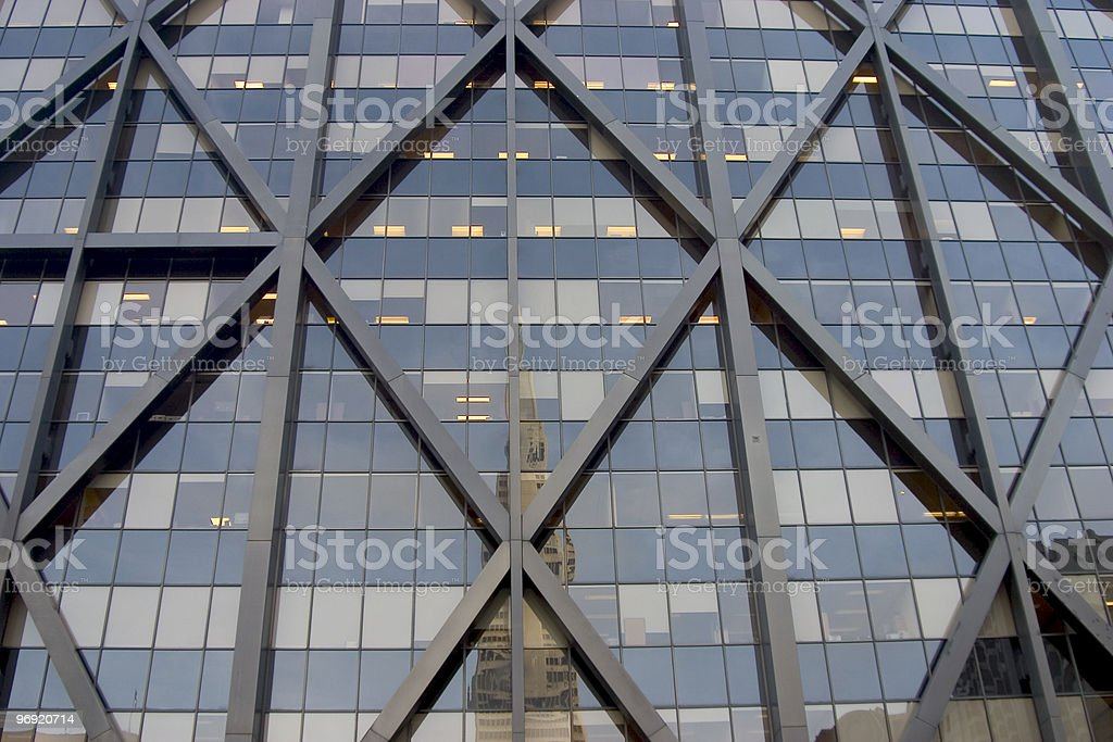 X building royalty-free stock photo