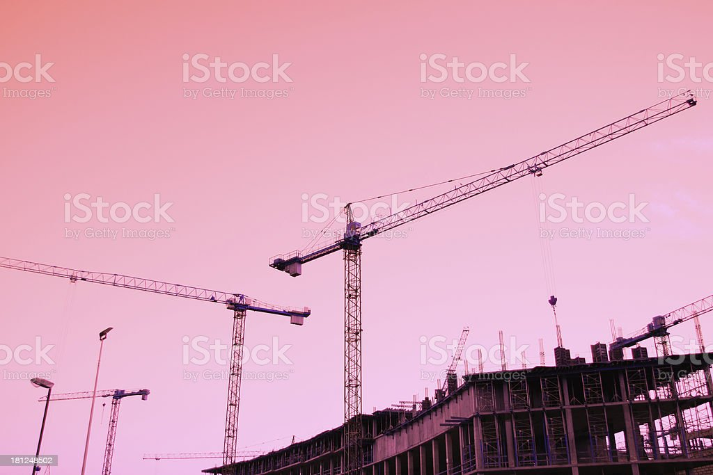 building process royalty-free stock photo