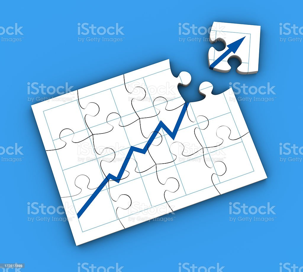 Building profit royalty-free stock photo
