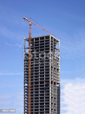 Highrise building under construction