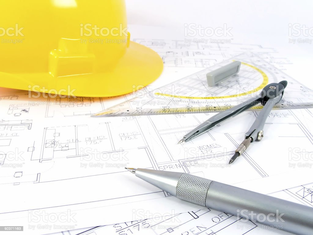 Building projects royalty-free stock photo