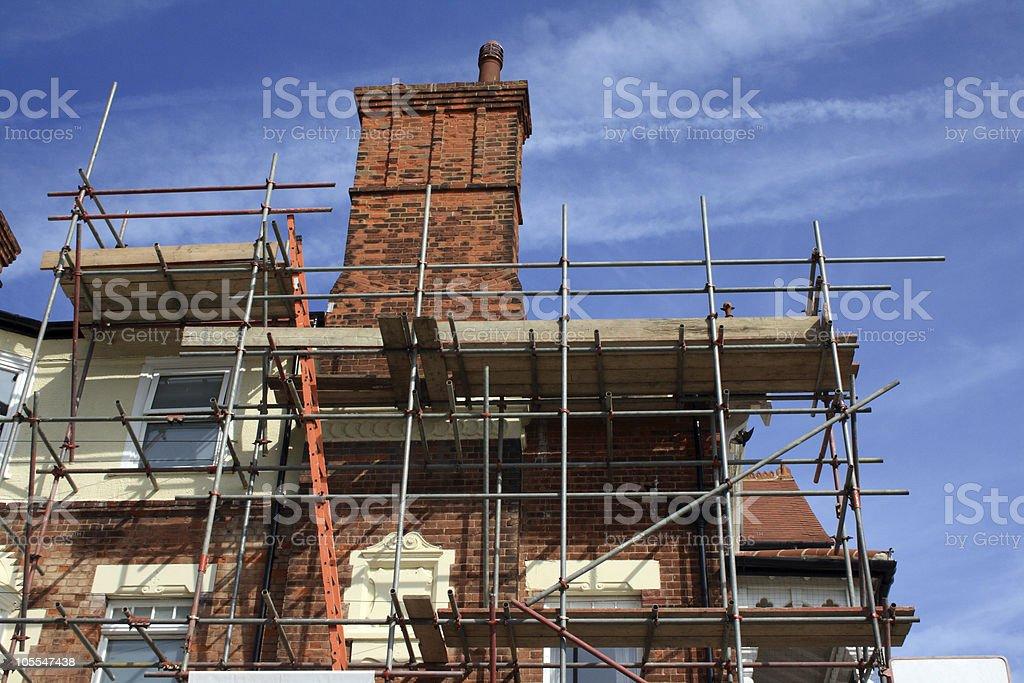 Building Restoration royalty-free stock photo