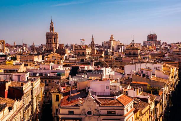 Dächer der Gebäude In Spanien – Foto