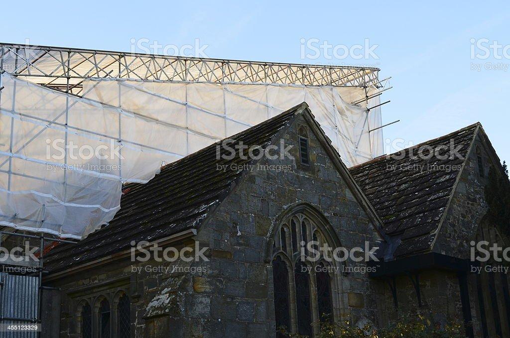 Gebäude Baugerüst – Foto